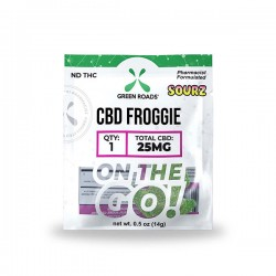 On The Go Sourz Froggie 25mg by Green Roads