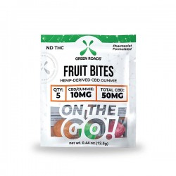 On The Go Fruit Bites 50mg by Green Roads