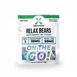 On The Go Relax Bears 50mg by Green Roads