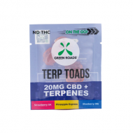 On The Go Terp Toads Gravity Dispenser 20mg by Green Roads