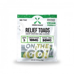 On The Go Relief Toads 50mg by Green Roads