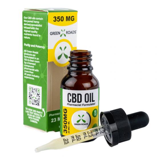 CBD Oil 350mg by Green Roads