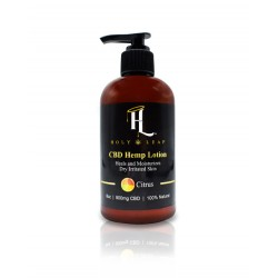 CBD Hemp Lotion 900mg by Holy Leaf