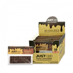 Dark Chocolate Bars by Just CBD