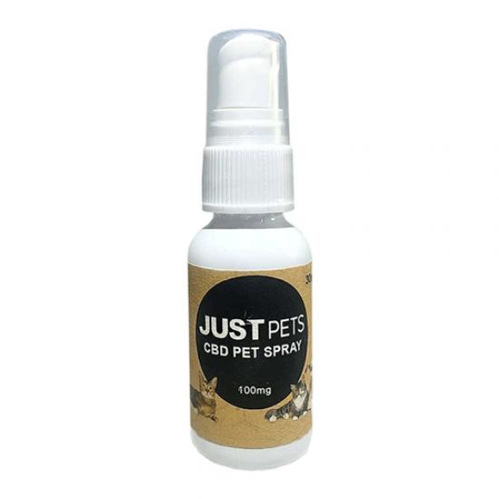 JustPets Pet Spray 100mg by Just CBD
