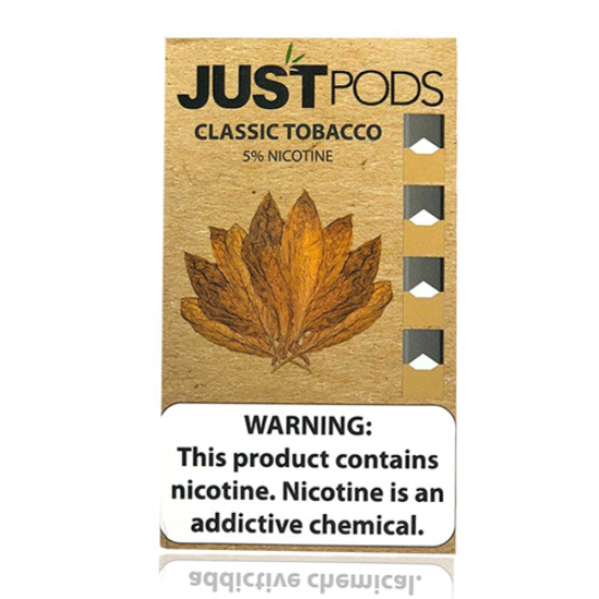 JustPods 4 pack by Just CBD