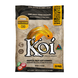 Tropical Gummies Large Pack by Koi CBD