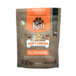 Soft Chews Dog Treats by Koi CBD